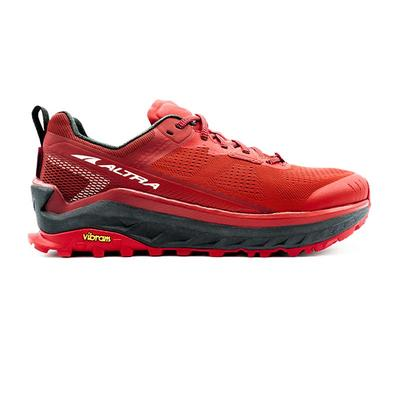 Altra - Altra | Olympus 4 Trail Running Shoes | Red | Men's | Size: 12