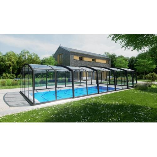 Schwimmhalle SkyCover® Royal Clear 5.0x10.6m