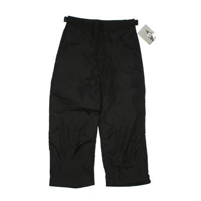 London Fog Snow Pants - Adjustable: Black Sporting & Activewear - Size 14