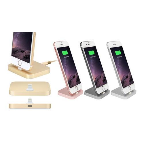 Dockingstation für iPhones: Silber
