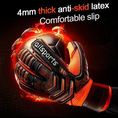 Gardien de but de Football professionnel Glvoes, gants de Protection des doigts en Latex pour