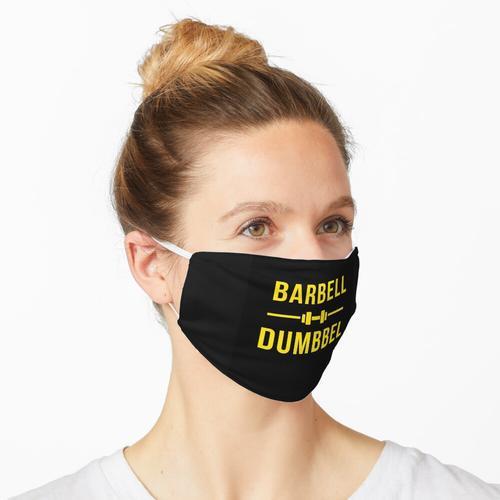 Langhantel Hantel Maske