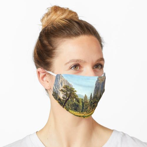 Bierstadt Brautschleier fällt, Yosemite Valley Maske