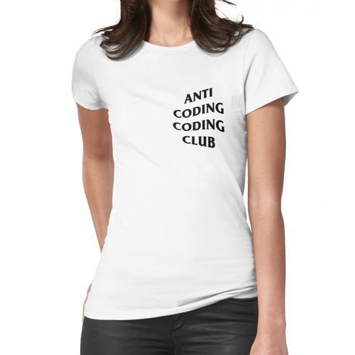 ANTI CODING CODING CLUB Frauen T-Shirt