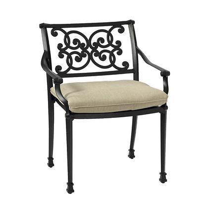Amalfi Dining Armchair Replacement Cushion Canvas Bermuda Sunbrella - Ballard Designs