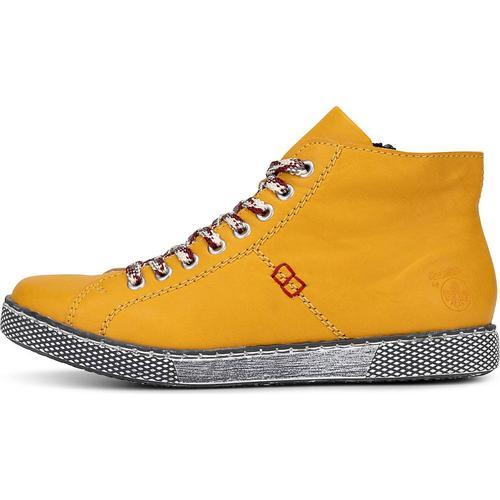 Rieker, Sneaker Da-Stiefel in gelb, Sneaker für Damen Gr. 36