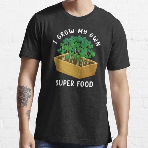 Microgreen Gardening Super Food Druck Essential T-Shirt
