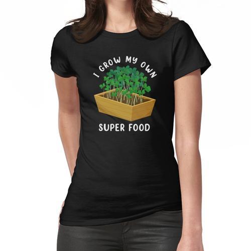 Microgreen Gardening Super Food Druck Frauen T-Shirt