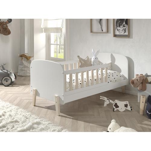 Vipack Kinderbett Kiddy, wahlweise mit Bettschubkasten weiß Kinder Kinderbetten Kindermöbel
