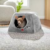 Disney Pluto Covered Cat & Dog Bed, Gray