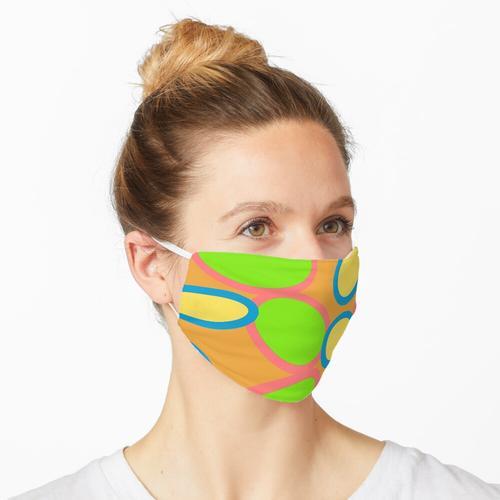 Blumenbakterien Maske