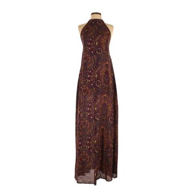 Show Me Your Mumu Casual Dress - Maxi: Purple Paisley Dresses - Used - Size X-Small