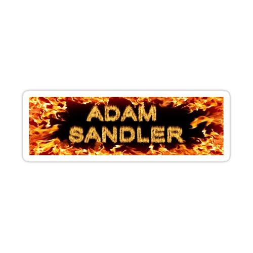 Adam Sandler Bumper Sticker Sticker