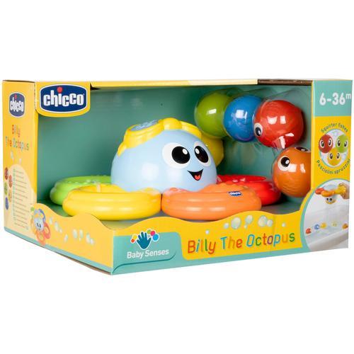 Chicco Badespielzeug Billy der Oktopus bunt Kinder Wasserspielzeug Outdoor-Spielzeug