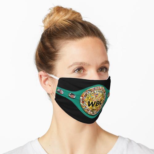 WBC-Gürtel Maske