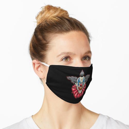 Horror Clown Gruselig Horrorclown Halloween Kostüm Maske