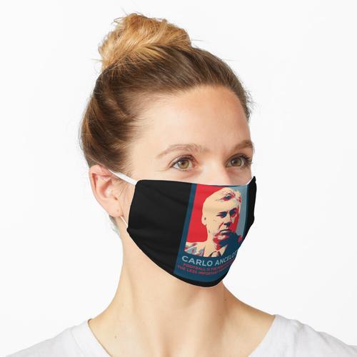 Carlo Ancelotti der Trainer Maske