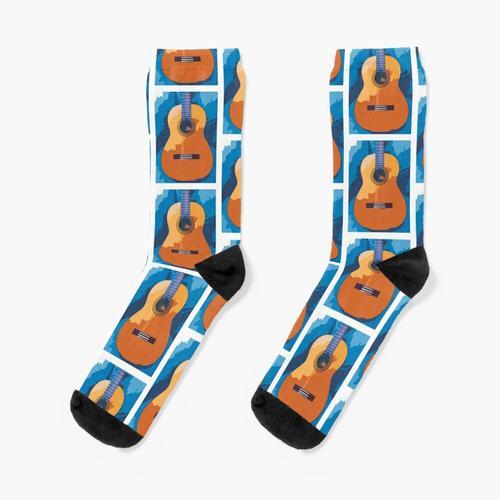 Gitarren-Blues 6 Socken