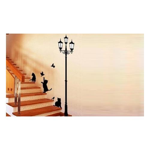 Wandsticker-Set mit Katzen-Motiv: 1
