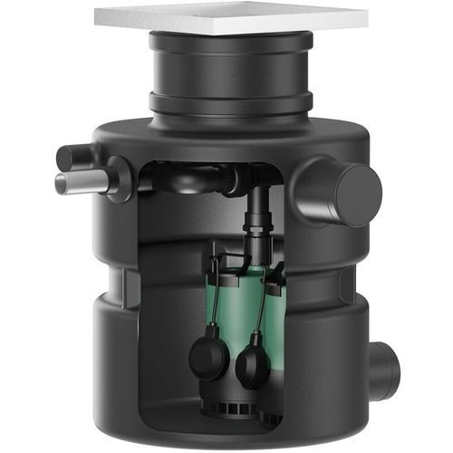Wilo Unterflur-Abwasserhebeanlage DrainLift Box 32/11HDDS, 230V, 0.55kW, MS-L