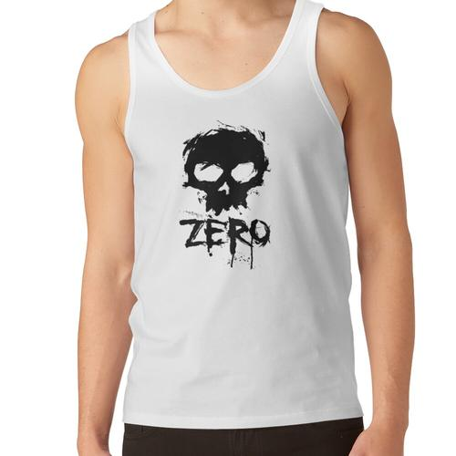 Das Zero Zero Black Tee Unisex-Tanktop