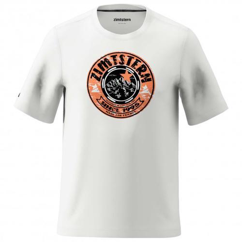 Zimtstern - Bullz Tee - T-Shirt Gr L grau/weiß