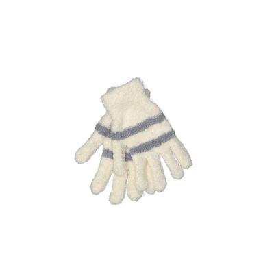 Gloves: Ivory Stripes Accessorie...