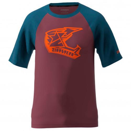 Zimtstern - Faze Tee - T-Shirt Gr M rot/lila/blau