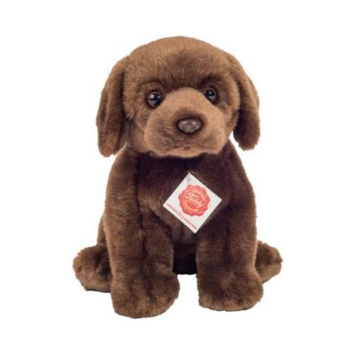 Labrador sitzend dunkelbraun 25 cm