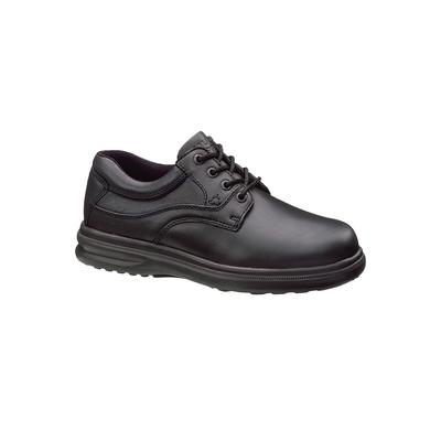 Extra Wide Width Men's Hush Puppies Glen Plain Toe Lace-Up Casual Shoes by Hush Puppies in Black (Size 12 EW)