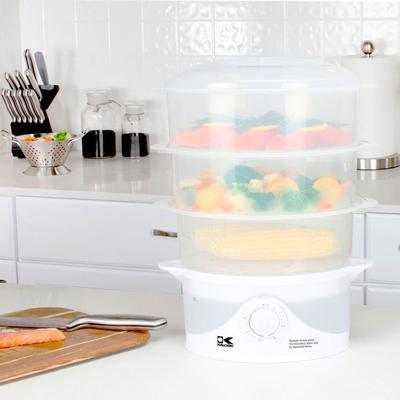 Kalorik 3 Tier Steamer by Kalorik in White