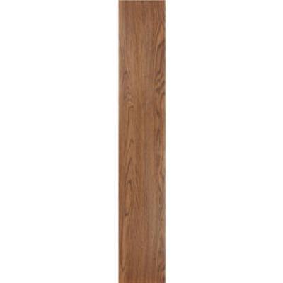 "Tivoli II 6"" x 36"" Self Adhesive Vinyl Floor Planks by Achim Home Dcor in Red Wood"