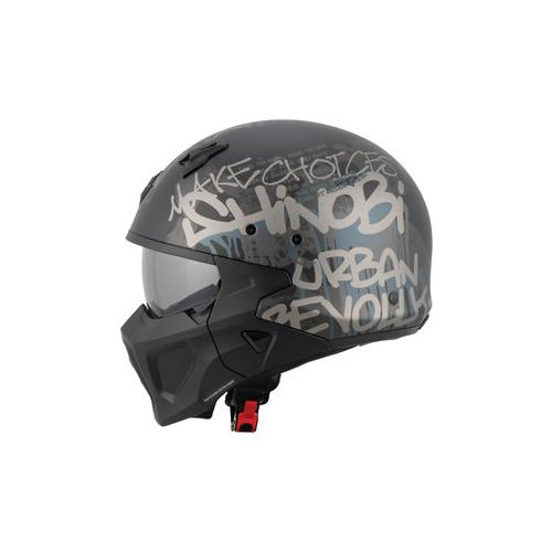 Scorpion Covert-X Wall, Jet-Helm XS