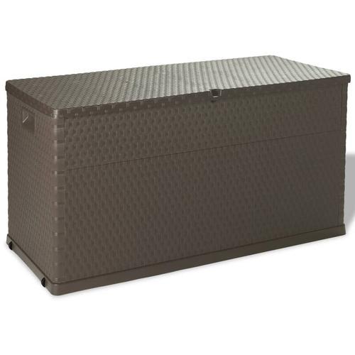 Gartenbox Braun 120×56×63 cm
