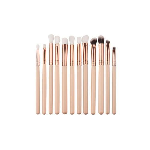 12-tlg. Make-up-Pinsel-Set: 4