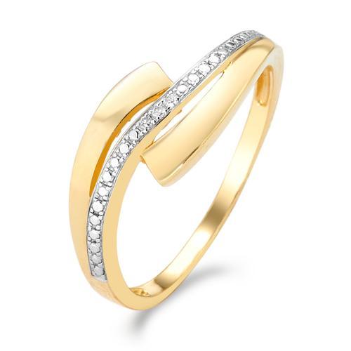 Ring 750 mit Diamanten