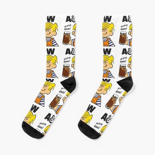 A & W ROOT BIER Socken