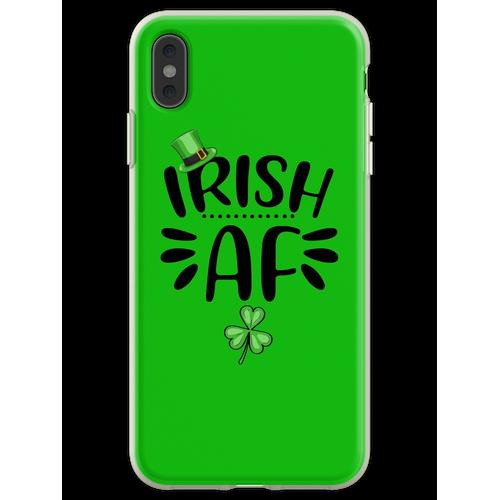Irisches AF-Hemd, St. Patrick's Day-Hemd, irische Geschenke, St. Pa Flexible Hülle für iPhone XS Max