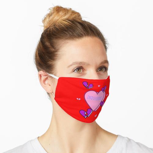 Gleichgültigkeit Maske