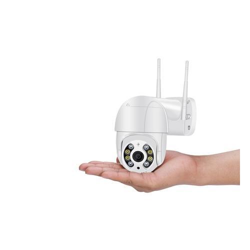 3 MP Überwachungskamera: 2 / schwarz / ohne SD-Karte