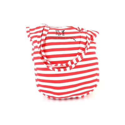 Fashion Brand Company - Fashion Brand Company Tote Bag: Red Stripes Bags