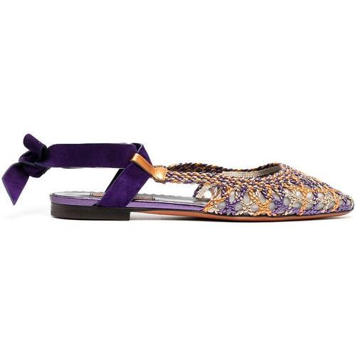 Missoni Schuhe mit Webmuster