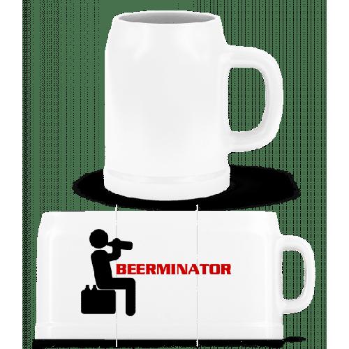Beerminator - Bierkrug