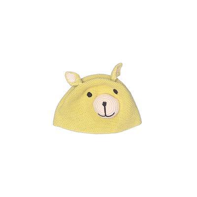Hand & Heart Beanie Hat: Green S...