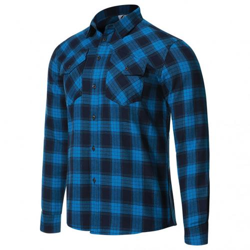 Protective - P-Rockabilly - Hemd Gr L blau/schwarz