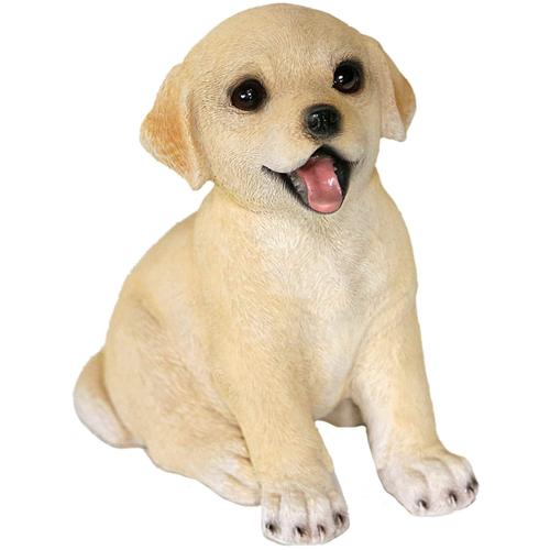 Casa Collection by Jänig Tierfigur Hunde - Labrador sitzend beige Tierfiguren Figuren Skulpturen Wohnaccessoires