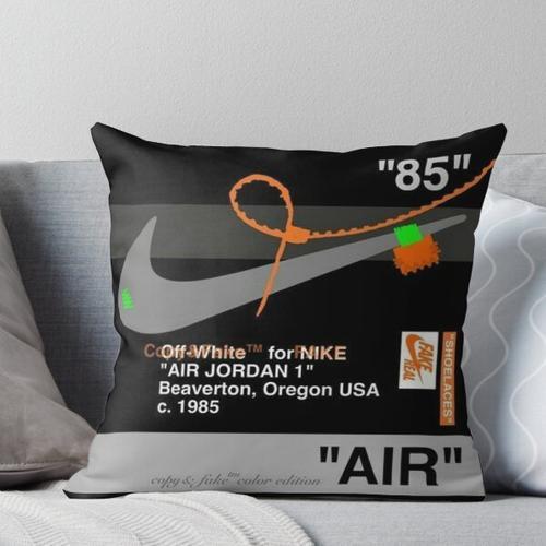 Air sneaker Throw Pillow
