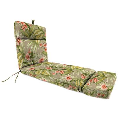Outdoor French Edge Chaise Lounge Cushion-TAHITI SUNRISE RICHLOOM - Jordan Manufacturing 9552PK1-6225D