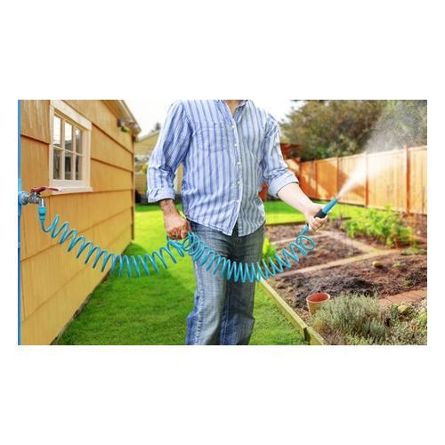 Gartenschlauch: Blau