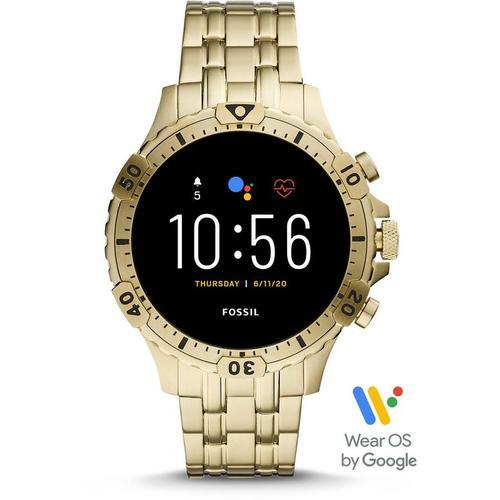 Fossil Gen 5 Smartwatch Garrett HR Edelstahl Gold